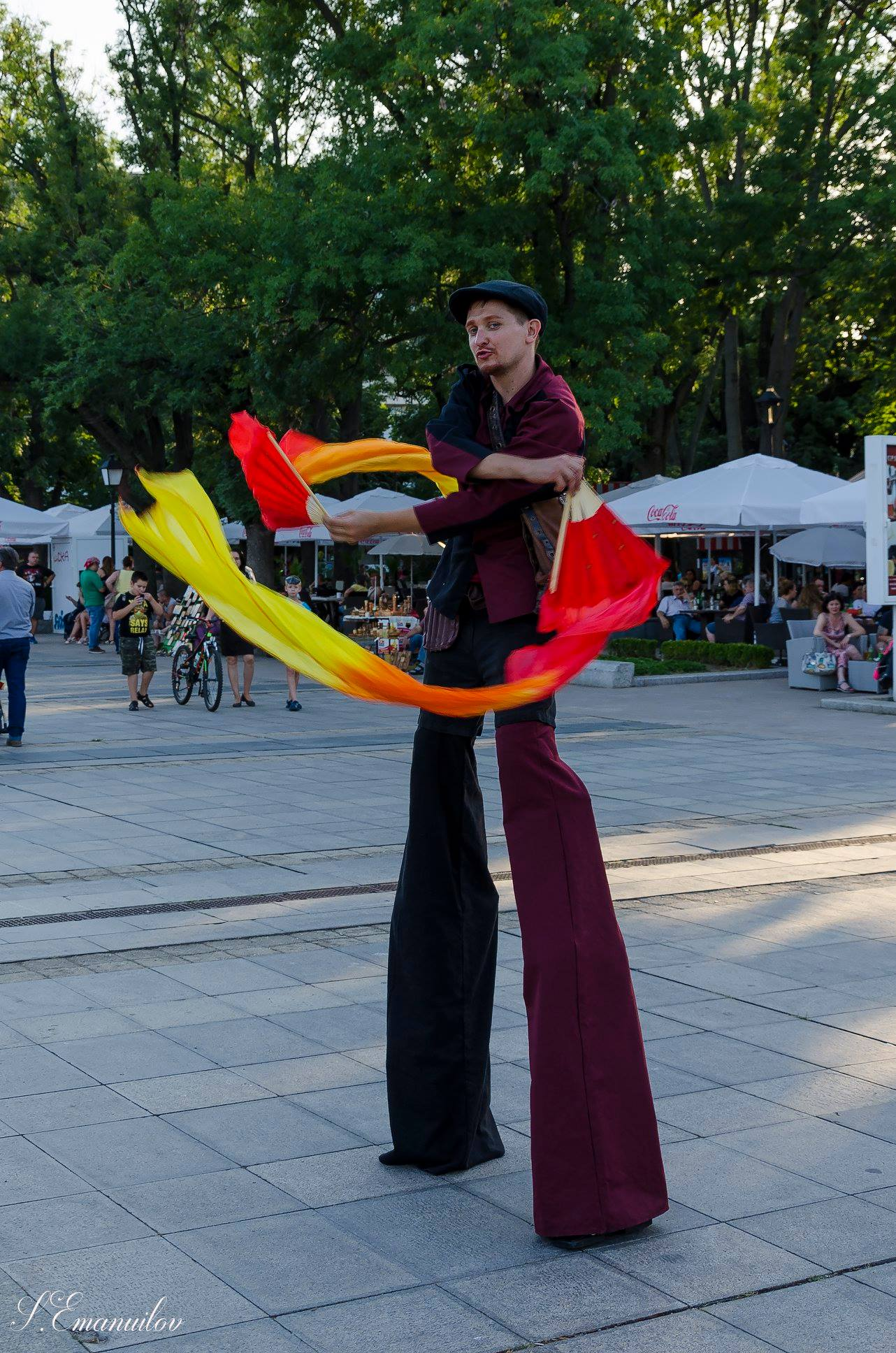 Walking Act mit Show & Spektakel