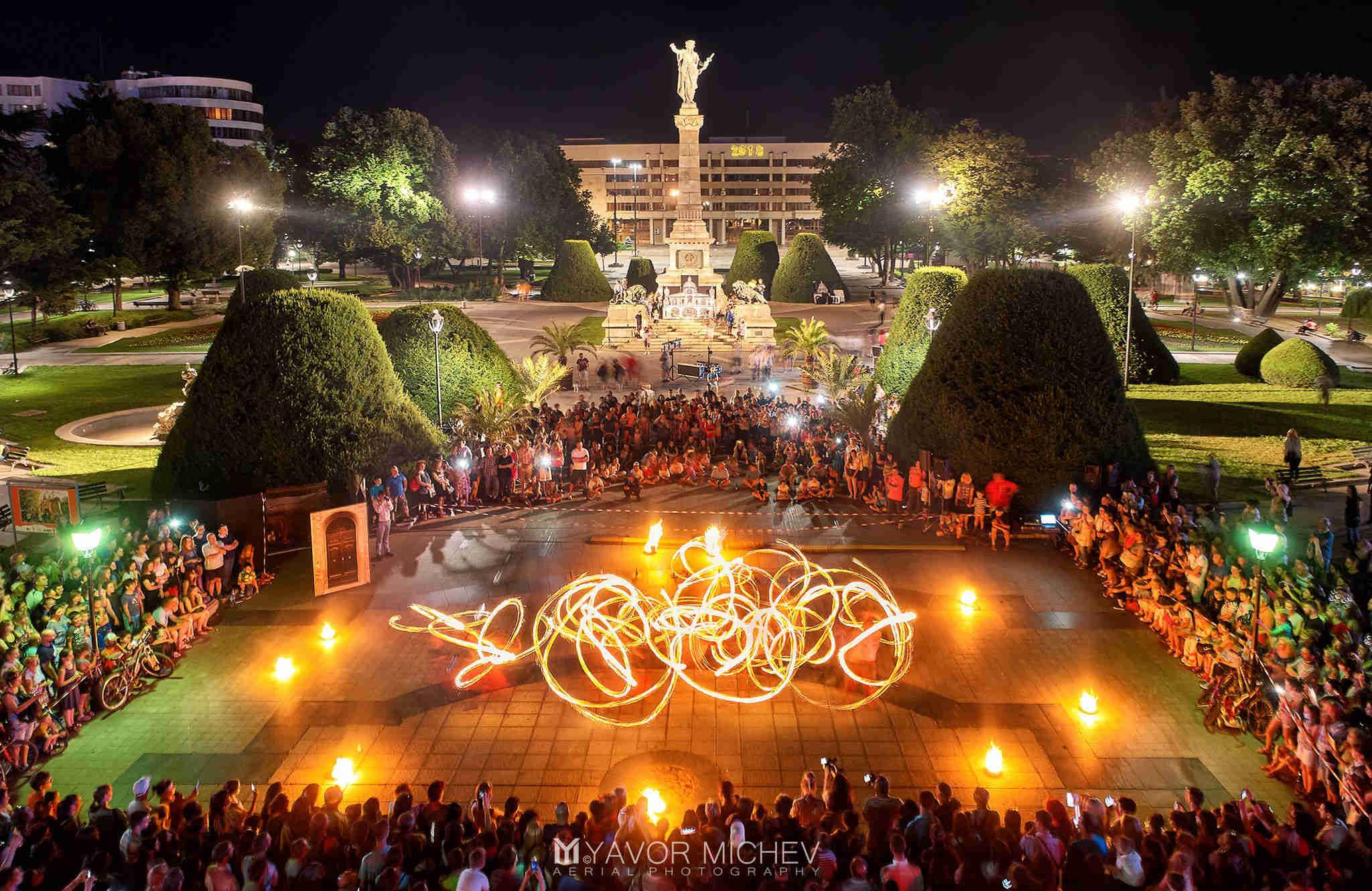 Feuershow mit Show & Spektakel