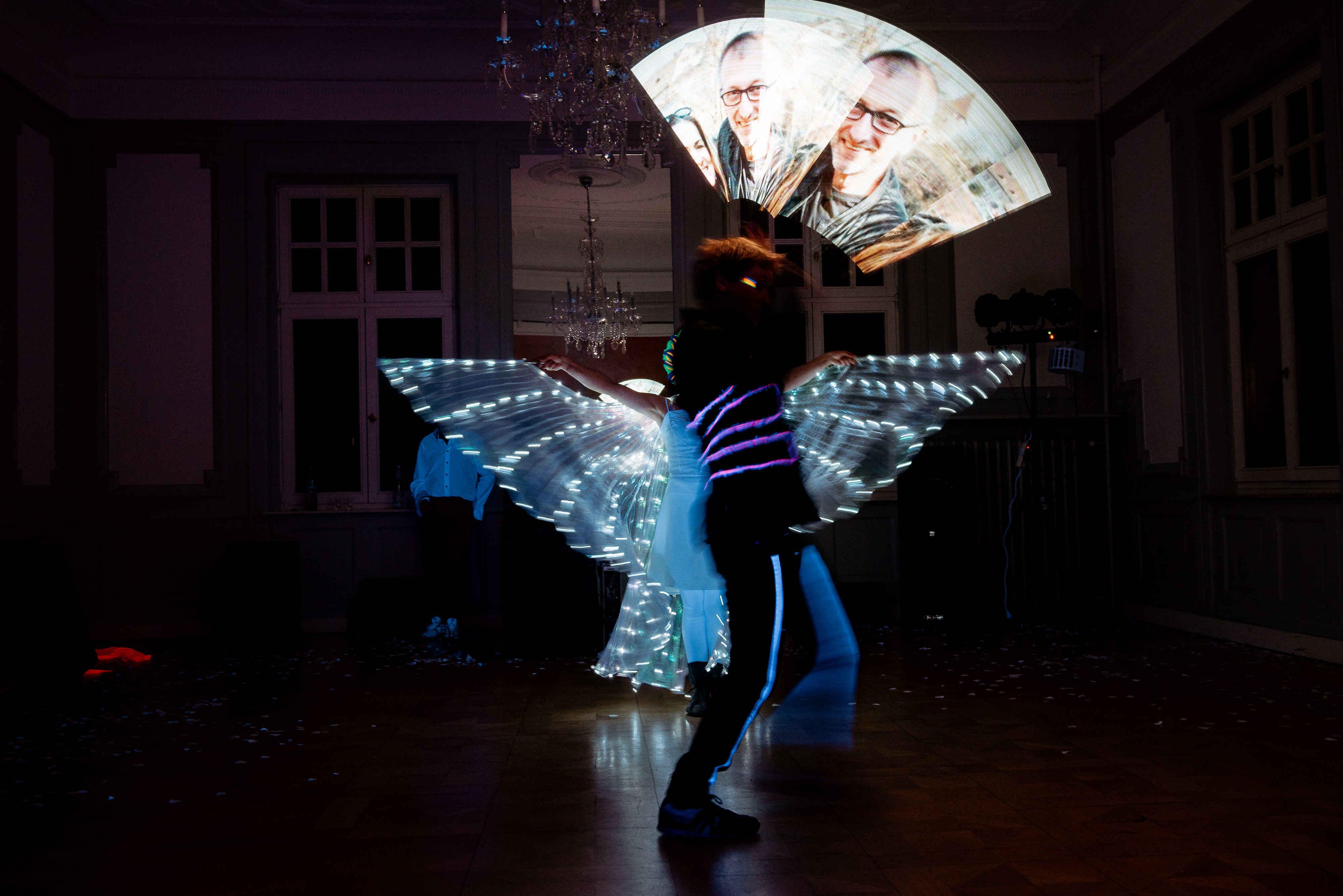 Lichtmalerei Lichtshow Show & Spektakel